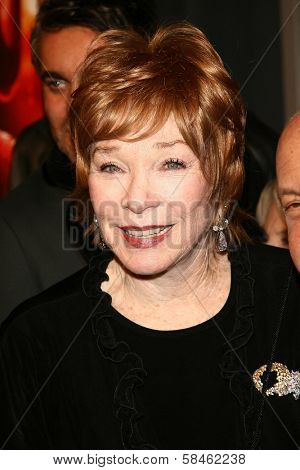 Shirley MacLaine at the premiere of