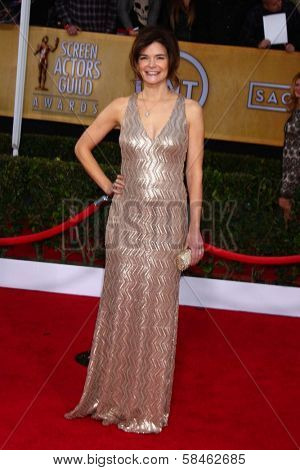 Betsy Brandt at the 19th Annual Screen Actors Guild Awards Arrivals, Shrine Auditorium, Los Angeles, CA 01-27-13
