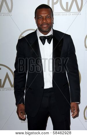 Chris Tucker at the 24th Annual Producers Guild Awards, Beverly Hilton, Beverly Hills, CA 01-26-13