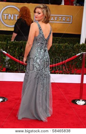 Julia Stiles at the 19th Annual Screen Actors Guild Awards Arrivals, Shrine Auditorium, Los Angeles, CA 01-27-13