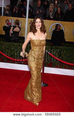 Jennifer Garner at the 19th Annual Screen Actors Guild Awards Arrivals, Shrine Auditorium, Los Angeles, CA 01-27-13
