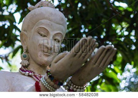Churchwoman Statue