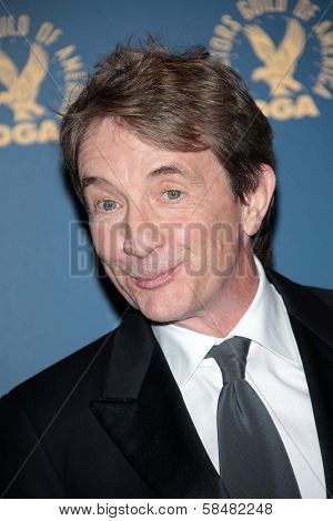 Martin Short at the 65th Annual Directors Guild Of America Awards Press Room, Dolby Theater, Hollywood, CA 02-02-13