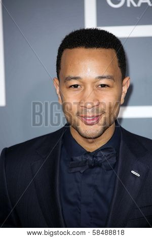 John Legend at the 55th Annual GRAMMY Awards, Staples Center, Los Angeles, CA 02-10-13