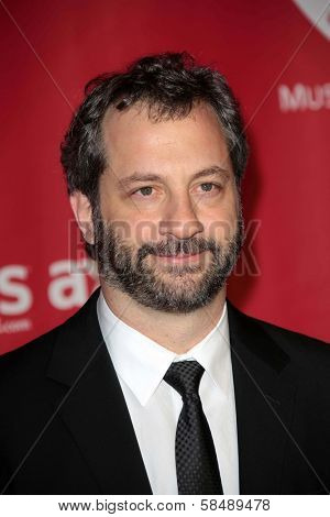 Judd Apatow at MusiCares Person Of The Year Honoring Bruce Springsteen, Los Angeles Convention Center, Los Angeles, CA 02-08-13