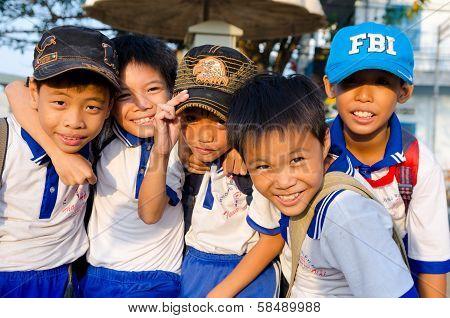 Happy Vietnamese Boys