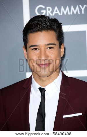 Mario Lopez at the 55th Annual GRAMMY Awards, Staples Center, Los Angeles, CA 02-10-13