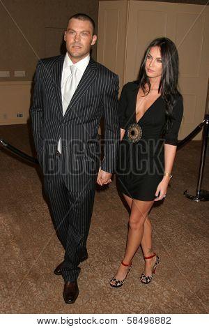 BEVERLY HILLS - NOVEMBER 03: Brian Austin Green and Megan Fox at the