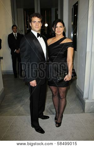 Henry Cavill and Gina Carano at Tom Ford Cocktails In Support Of Project Angel Food Media. Tom Ford, Beverly Hills, CA 02-21-13