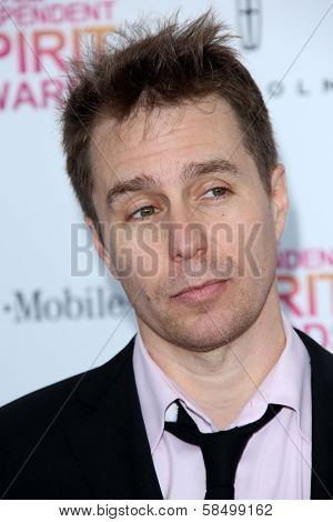 Sam Rockwell at the 2013 Film Independent Spirit Awards, Private Location, Santa Monica, CA 02-23-13
