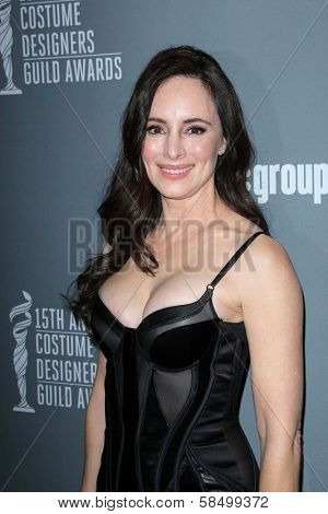 Madeleine Stowe at the 15th Annual Costume Designers Guild Awards, Beverly Hilton, Beverly Hills, CA 02-19-13