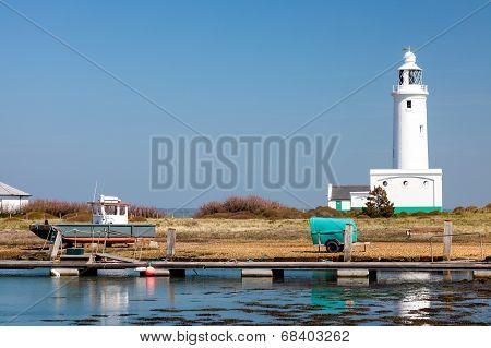 Hurst Point Lighthouse England