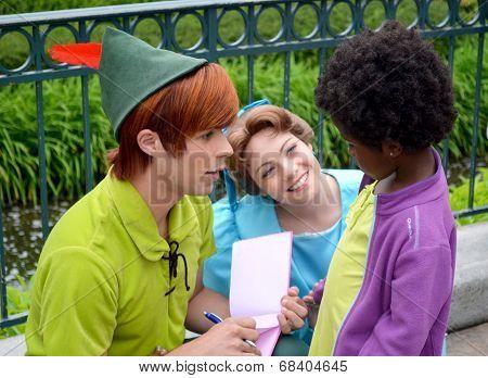 Disney Peter Pan and Wendy
