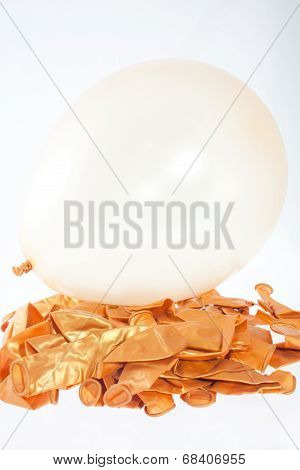 Golden Balloons
