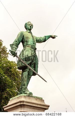 Statue Of Charles Xii (karl Xii)
