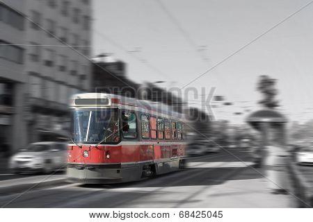 Toronto Streetcar Transportation