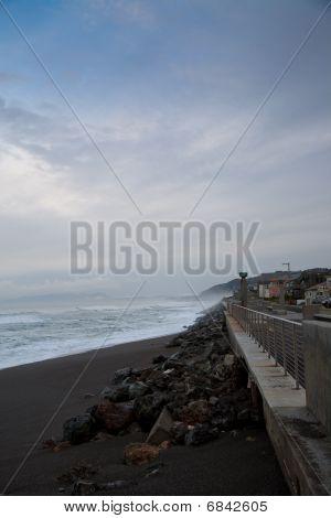 Coastal Pacifica near Pier