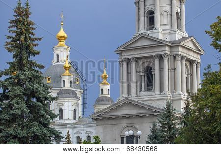 Cathedral of the Assumption in Kharkov.