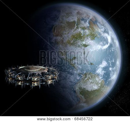 Alien UFO invasion nearing Earth