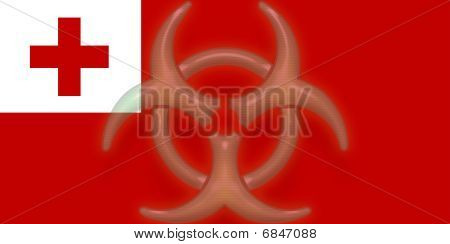 Flag Of Tonga Health Warning