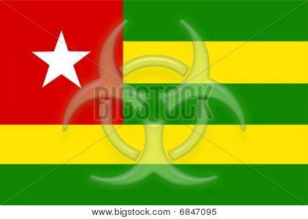 Flag Of Togo Health Warning