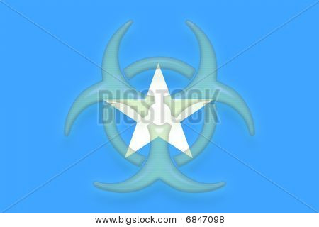 Flag Of Somalia Health Warning
