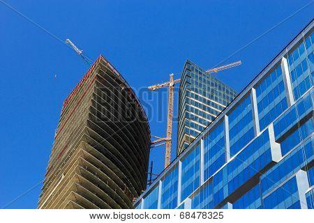 Business Buildings Construction