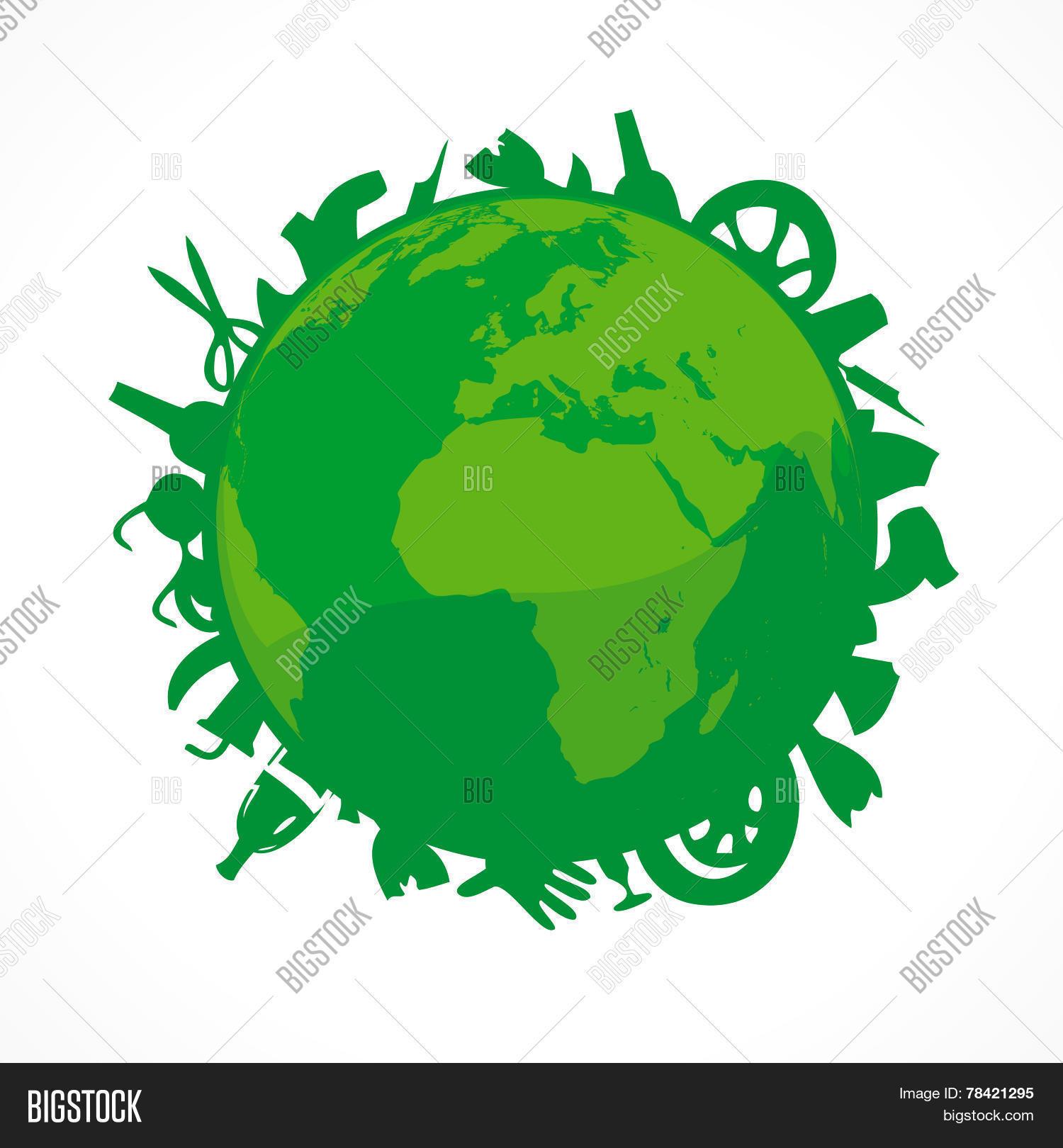 Bionomics Earth Vector Photo Free Trial Bigstock