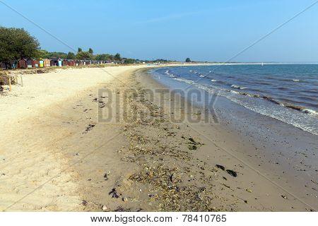 Sandy beach Studland knoll beach Dorset England UK