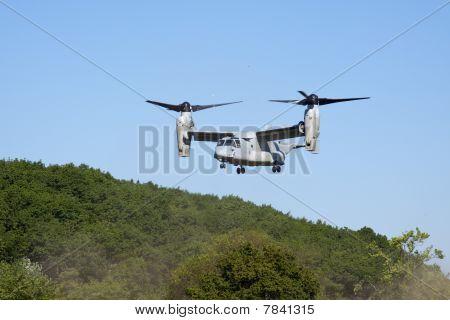 Tilt rotor aircraft.
