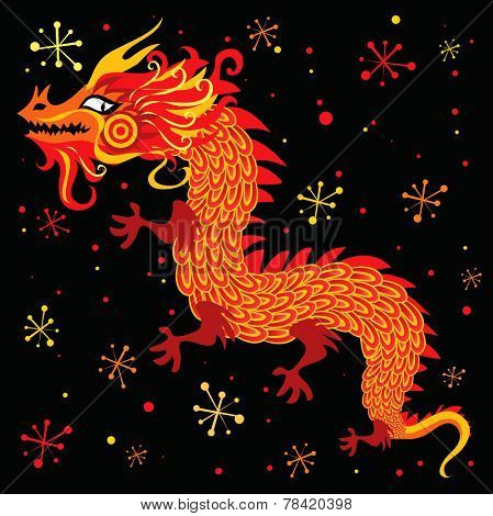 Chinese New Year, Dragon character