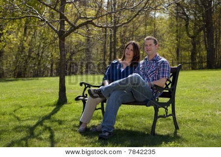 Couple Outdoors
