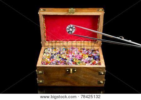 Magnificent Diamond & Treasure Chest