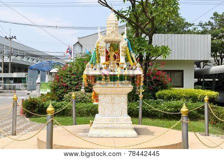 shrine of the household god