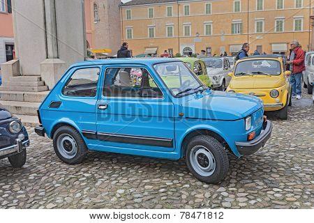 Vintage Italian Car Fiat 126 Personal 4