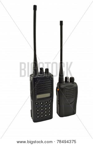 Pair Of Uhf Handsets