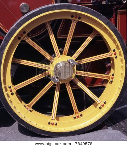 Steam Engine Wheel
