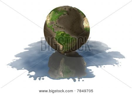 Melted Earth