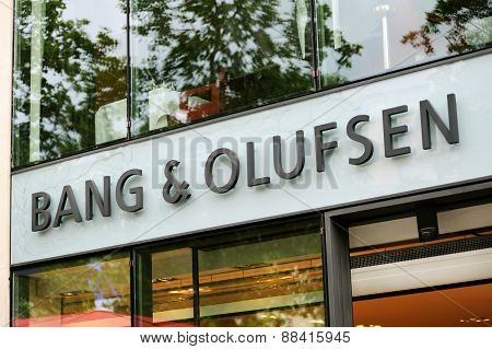 Exterior Of A Bang & Olufsen Store