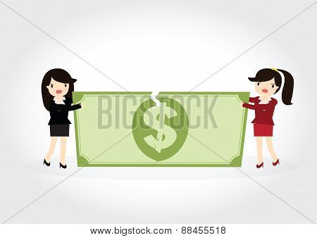Fighting Over Money