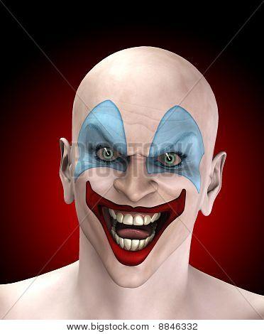 Evil Halloween Clown
