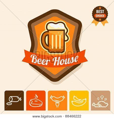 beer house emblem