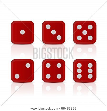 Dices For Games with All The Numbers.