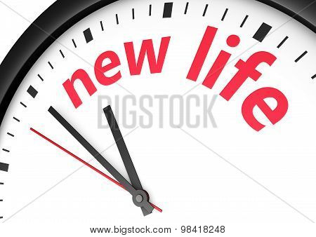 New Life Time Concept