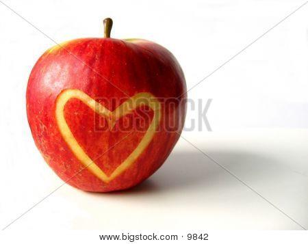 Apple met hart