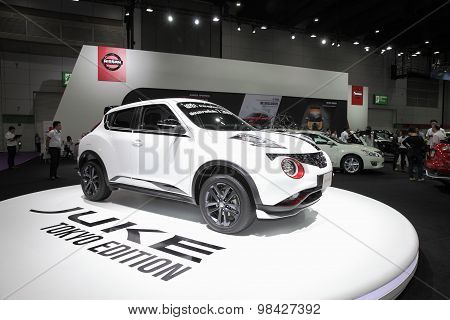 Bangkok - August 4: Nissan Juke Tokyo Edition  Car On Display At Big Motor Sale On August 4, 2015 In