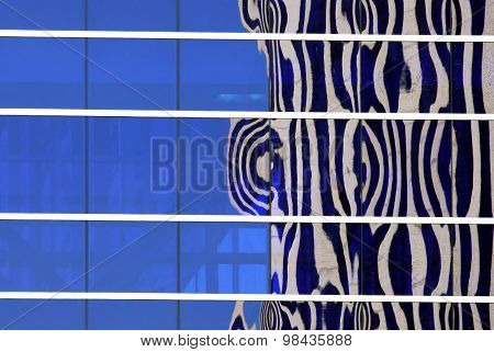 Office Building Abstract Reflection