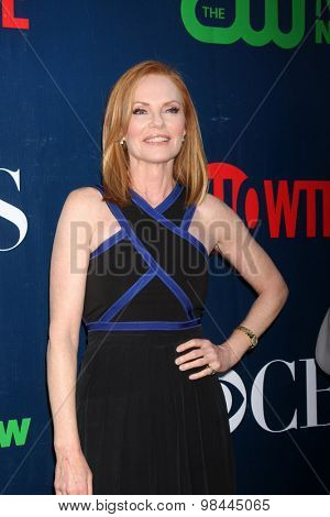LOS ANGELES - AUG 10:  Marg Helgenberger at the CBS TCA Summer 2015 Party at the Pacific Design Center on August 10, 2015 in West Hollywood, CA