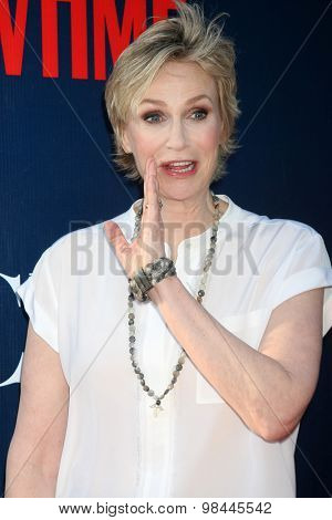 LOS ANGELES - AUG 10:  Jane Lynch at the CBS TCA Summer 2015 Party at the Pacific Design Center on August 10, 2015 in West Hollywood, CA