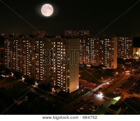 Inhabited Quarters Of Night City.